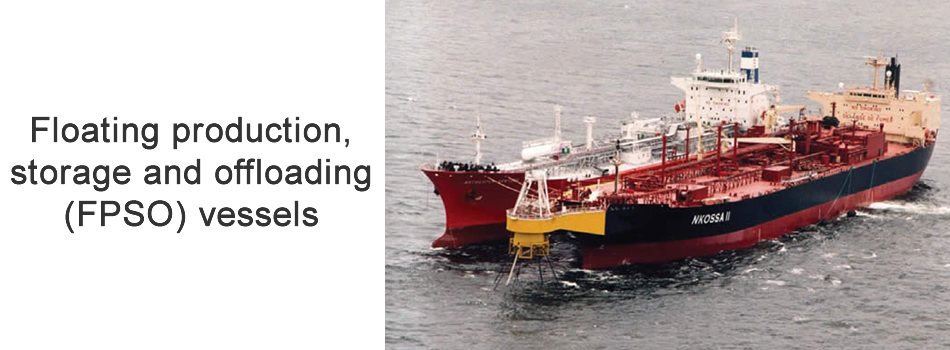 Floating production, storage and offloading (FPSO) vessels